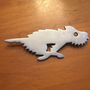 PRICE DROP! Silver running dog pin/brooch